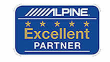 Alpine excellent partner Car Audio Stuff