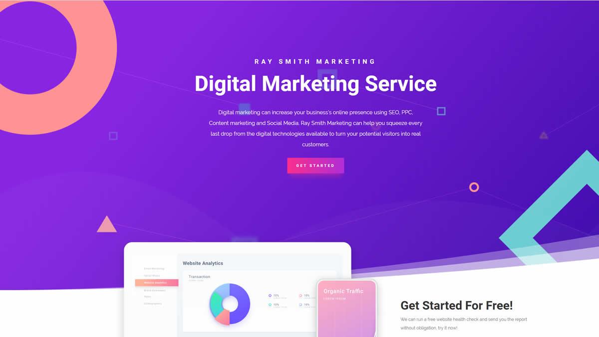 digital marketing website image link