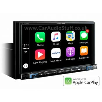 Alpine double DIN BT