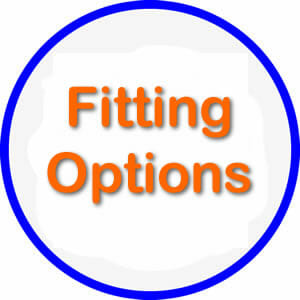 fitting options